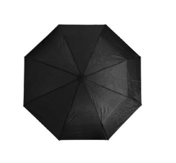 Personalised 3-Fold Umbrella - Black
